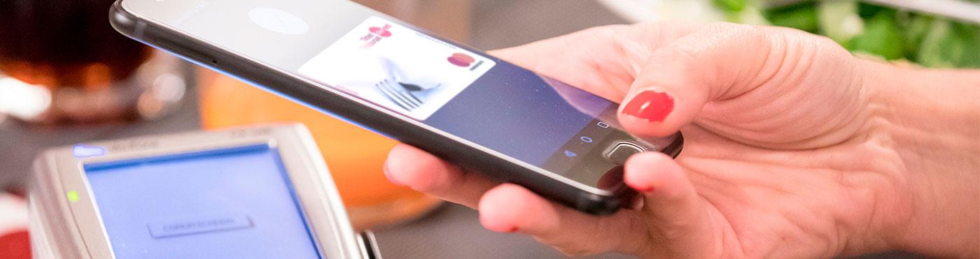 Paga con el móvil - Ticket Restaurant