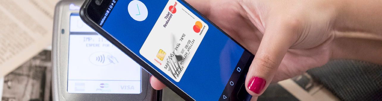 Ticket Restaurant - pago con móvil