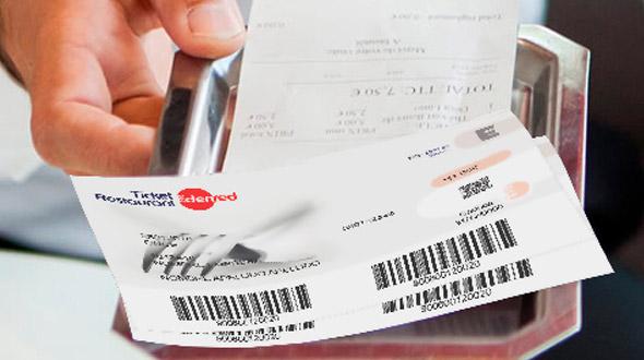 Ticket Restaurant en cheque