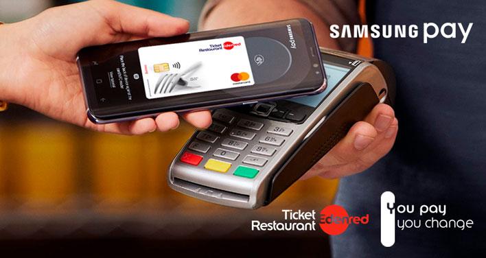Pago con Samsung Pay