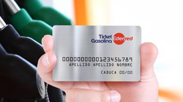 Tarjeta Ticket Gasolina