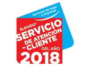logo Servicio de Atención al Cliente del Año 2018