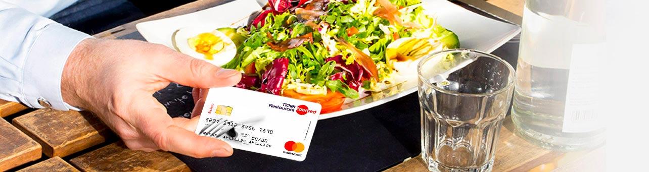 tarjeta restaurante Ticket Restaurant