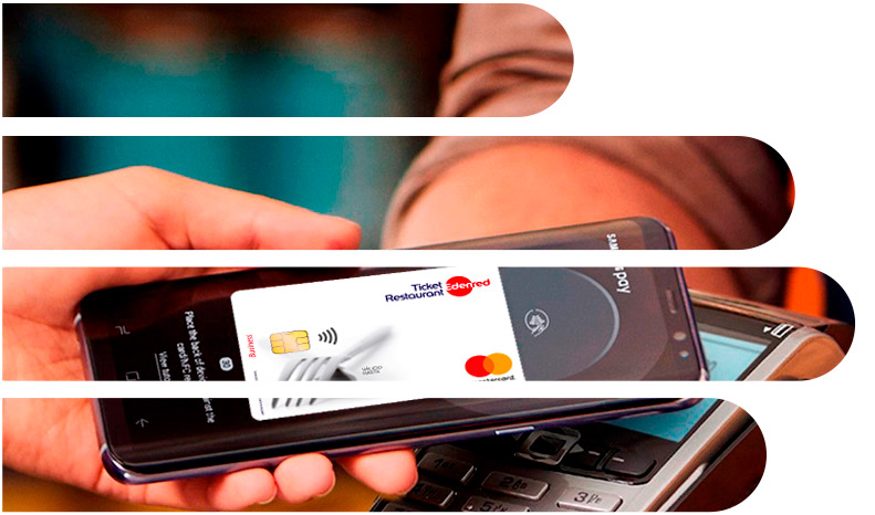 Ticket Restaurant en móvil con Samsung Pay