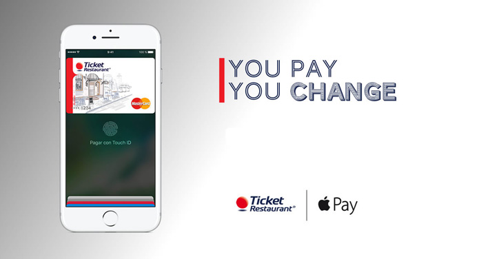 Ticket Restaurant-Apple Pay