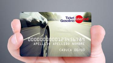 tarjeta Ticket Gasolina Multimarca