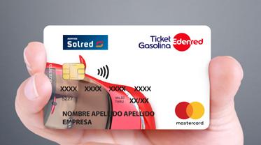 tarjeta Ticket Gasolina Solred