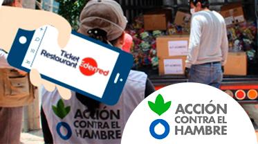 colabora con Acción Contra el Hambre frente al COVID-19